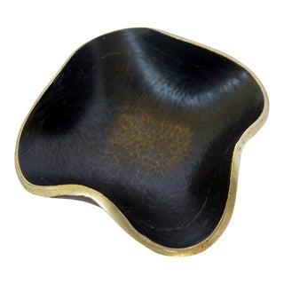 Delicate Brass Bowl by Walter Bosse