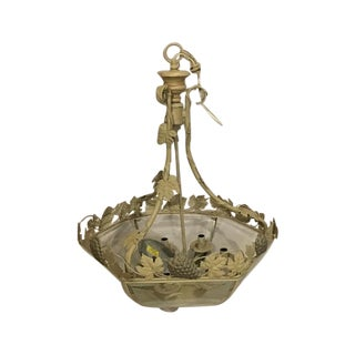 Italian Style Chandelier with Grapes & Leaves