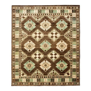 """New Tribal Traditional Hand Knotted Area Rug - 8'2"""" x 9'10"""""""