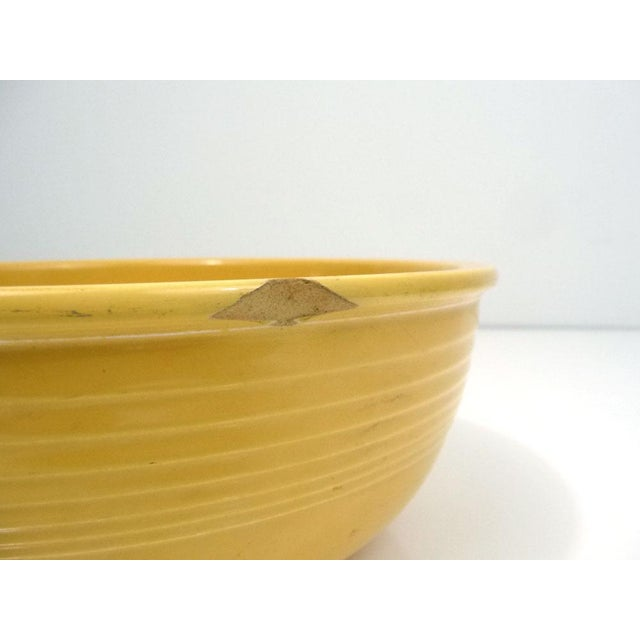 Rare Promotional Fiesta Yellow Salad Bowl - Image 4 of 7