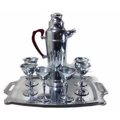 8-Piece Martini Cocktail Set - Image 1 of 4