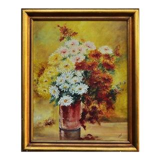 Vase of Flowers Still Life Painting