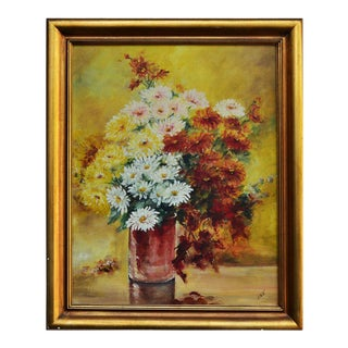Vase of Flowers Still Life Painting