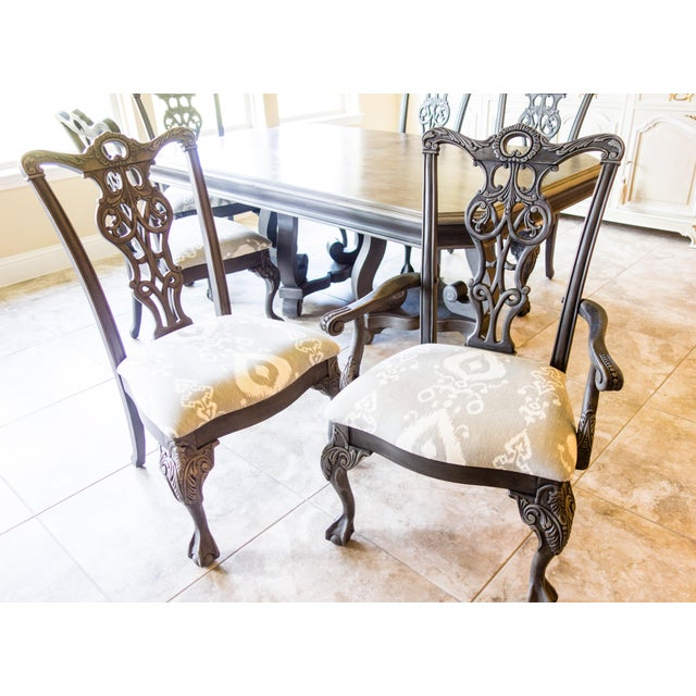 Reproduction Chippendale Dining Set - Image 6 of 11
