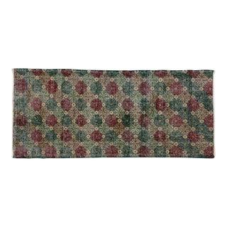 Zeki Muren Vintage Turkish Sivas Rug - 2′9″ × 6′