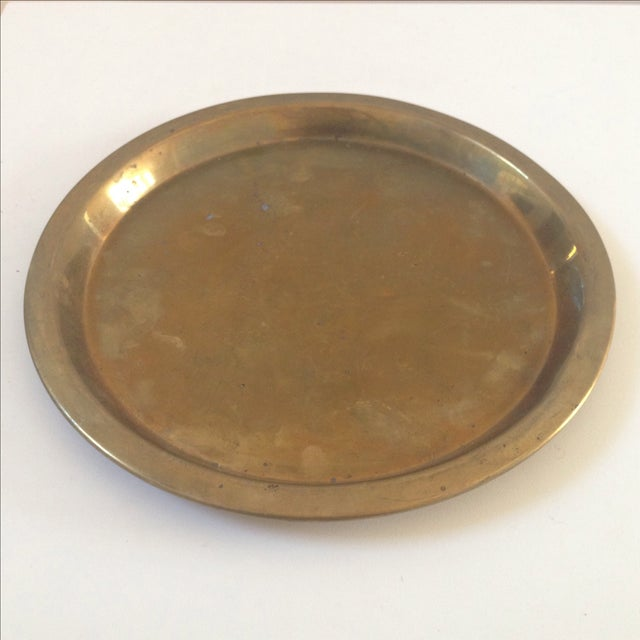 Vintage Brass Plate 50