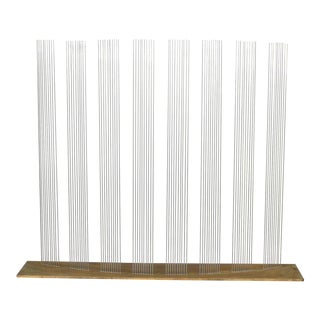 "Val Bertoia ""8 Times Sound"" Rods Sculpture"
