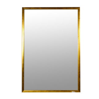 Gold Toned Framed Wall Mirror
