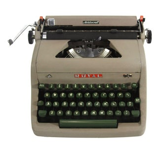 Royal Aristocrat Typewriter