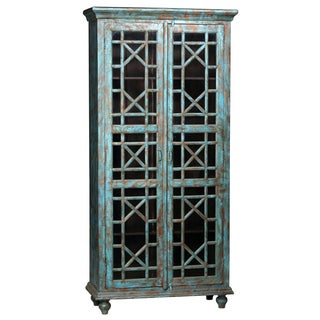 Painted Display Cabinet