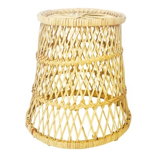 Vintage Basket Plant Stand