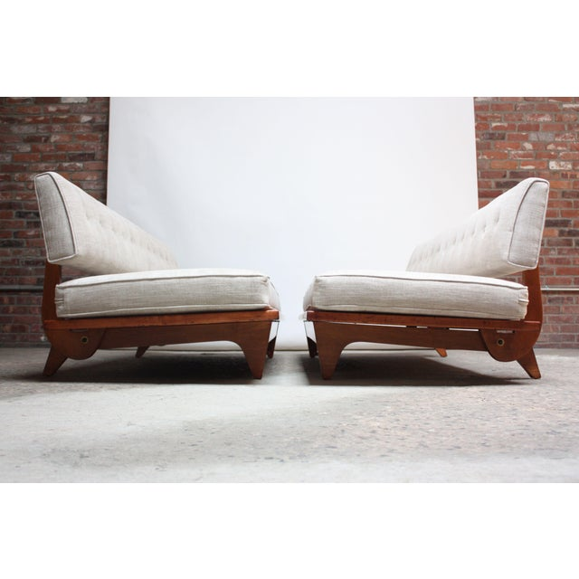 Pair of Daybed Sofas by Richard Stein for Knoll - Image 2 of 11