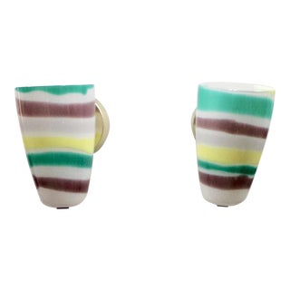 Murano Glass 1960's Sconces - A Pair