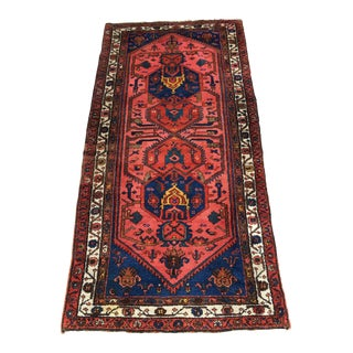 "Antique Malayer Rug - 3'4"" X 6'8"""