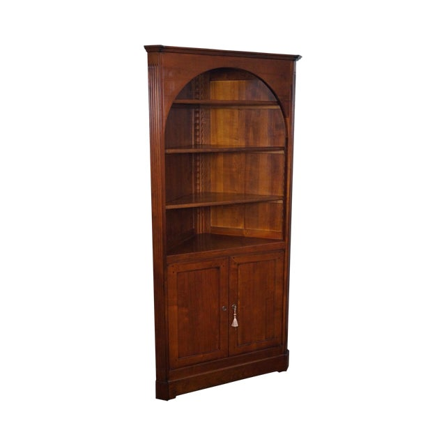 GEKA Grange French Country Cherry Corner Cabinet - Image 1 of 10