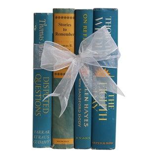 Vintage Book Gift Set: Midcentury Dustjacket Novels, S/4