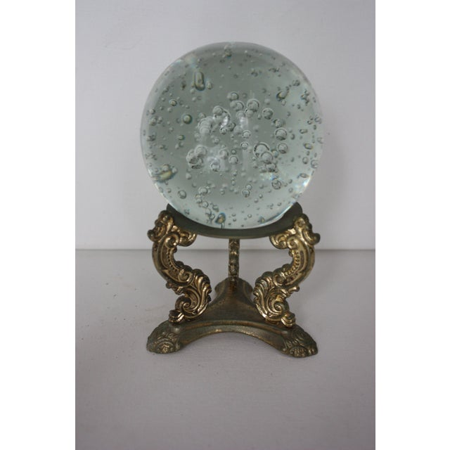 Floating Bubbles Glass Orb & Stand - Image 3 of 4