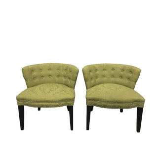HD Buttercup Slipper Chairs - A Pair
