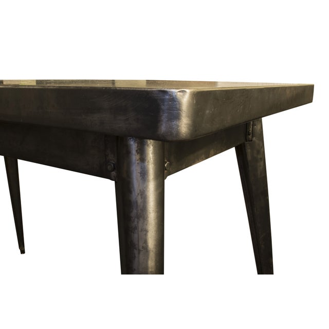 French Tolix Cafe Table - Image 2 of 2