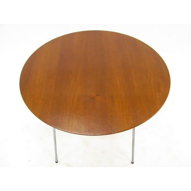 Model 3600 dining table by Arne Jacobsen for Fritz Hansen - Image 5 of 7