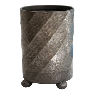 English Pewter Canister