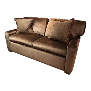 Century Gold Velvet Sofa Sleeper