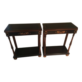 Maitland Smith Side Tables - A Pair