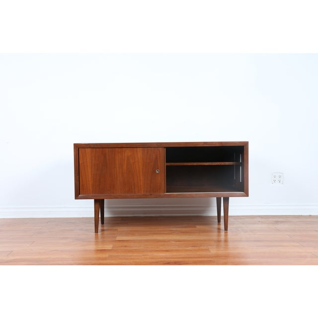 Image of Mid-Century Record Credenza