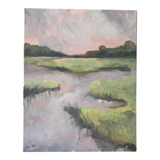 "Alice Miles ""Morning on the Water"" Painting"