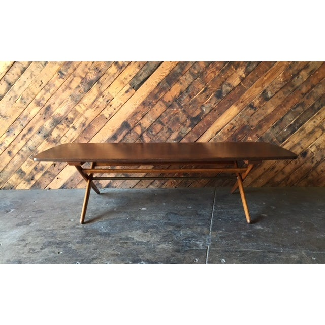 Mid-Century Danish Coffee Table by Ole Wanscher - Image 10 of 10
