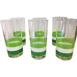 Vintage Georges Briard Glasses- Set of 6