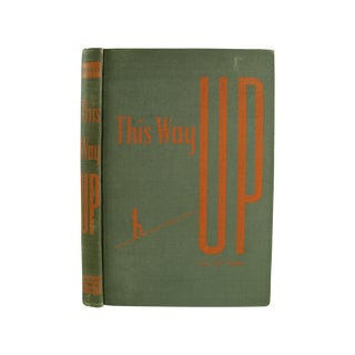 Vintage 1946 'This Way Up' Book