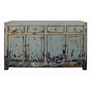 Chinese Sideboard in Rustic Gray