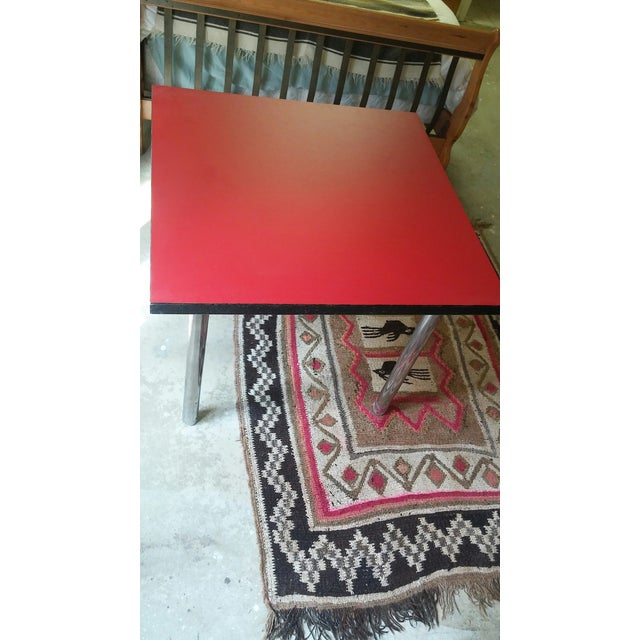 Mid-Century Square Dining Table - Image 2 of 4