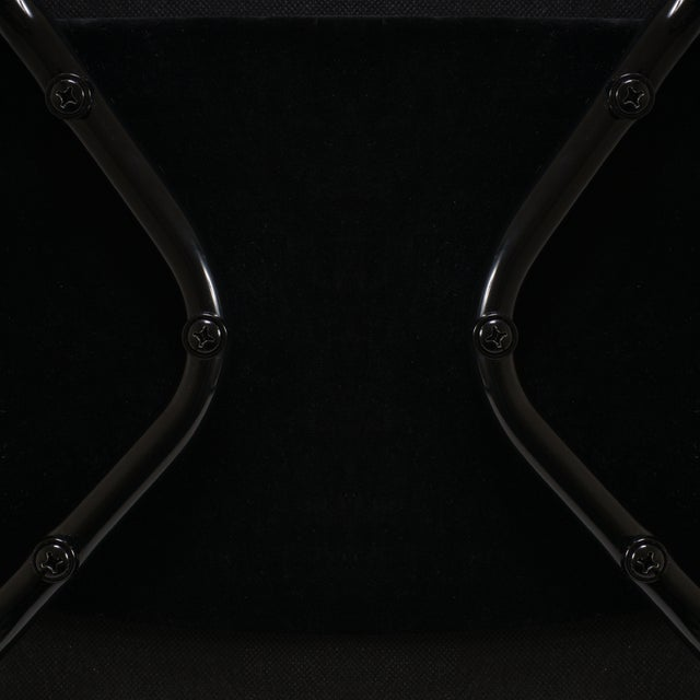 Saarinen Executive Arm Chairs, Black Edition - Set of 6 - Image 7 of 8