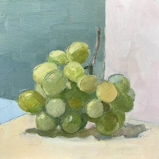 Grapes on Green Original Oil Painting