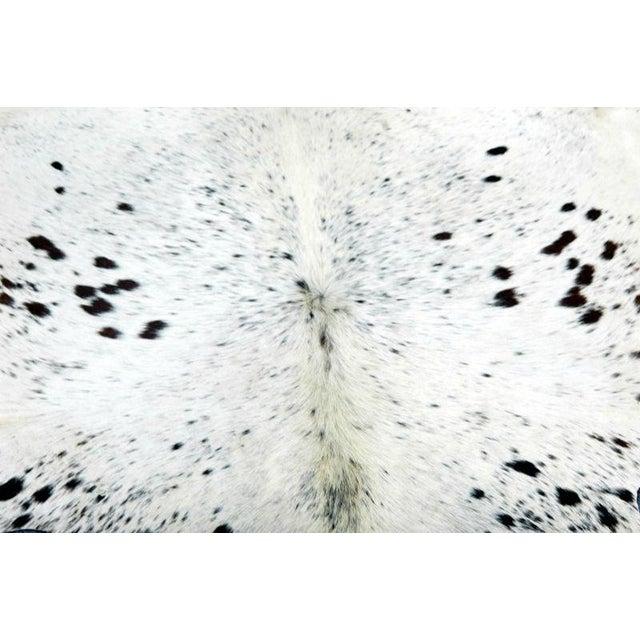 Cow Hide Rug - 4′2″ × 4′5″ - Image 3 of 4
