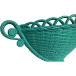 Image of Burlwood Hanging Wall Basket