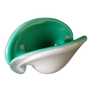 Toso Murano Clamshell Ashtray / Decorative Bowl