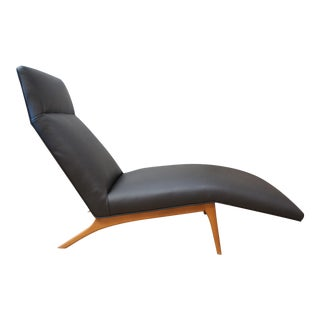 Rare Danish Lounge Chair by Poul Jensen for Selig