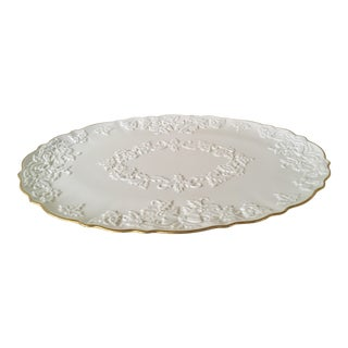 Holiday Lenox Oval Serving Platter