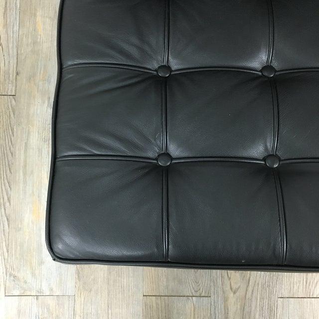 Barcelona Chairs & Ottoman - Set of 3 - Image 5 of 11