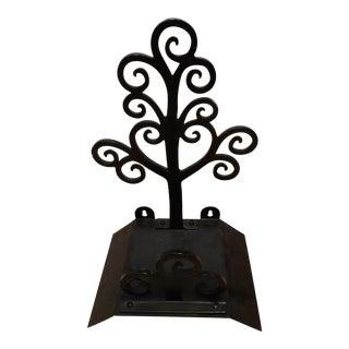 Winterthur Black Metal Garden Hose Holder