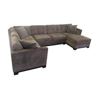 Elliot Fabric 3-Piece Chaise Sectional Sofa