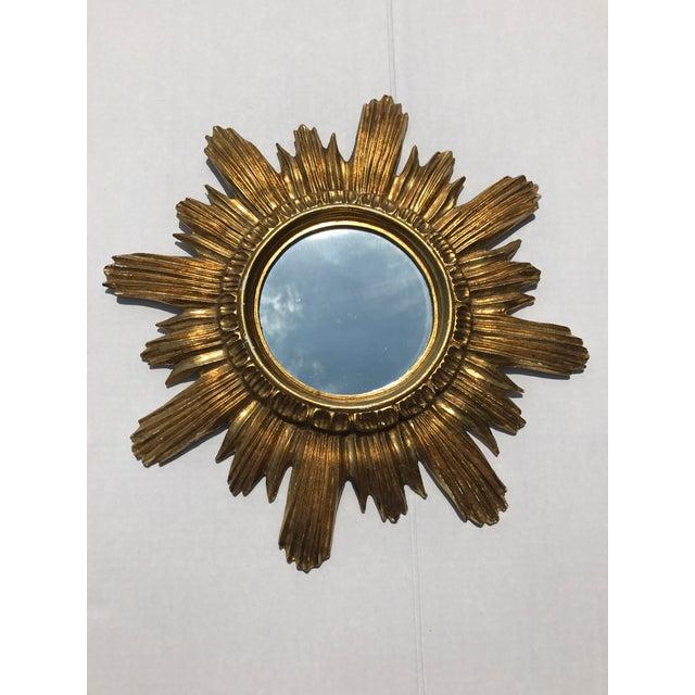 Italian Starburst Mirrors- A Pair - Image 5 of 8