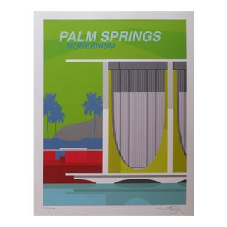"Michael Murphy ""Palm Springs Modernism"" Print"