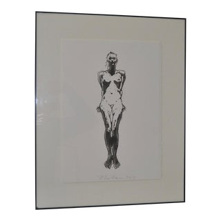 C.1993 Robert Graham Figural Nude Lithograph