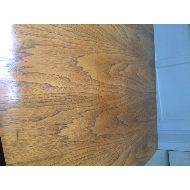 Kent Coffey Perspecta Series Dining Table & 6 Chairs Set - Image 11 of 11