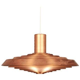 Copper Pavillion Pendant Lamp by Poul Henningsen