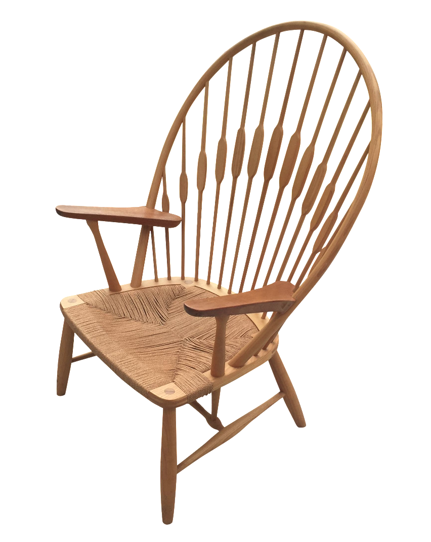 Image of Hans Wegner for Carl Hansen Peacock Chair